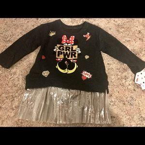 Disney Junior Minnie Mouse 12M Baby/Toddler Dress